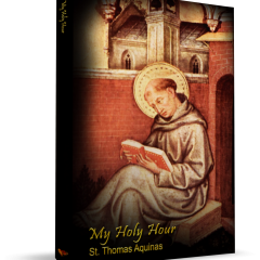 St. Thomas Aquinas reading